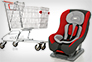 Safety Seat and Shopping Cart